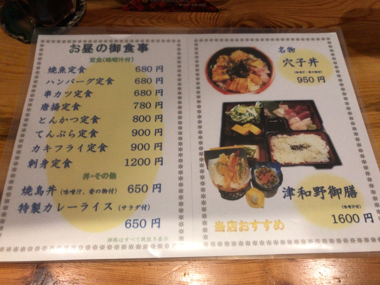 姫路駅前のおみぞ筋商店街「津和野」で食べた唐揚げランチがおもしろい!