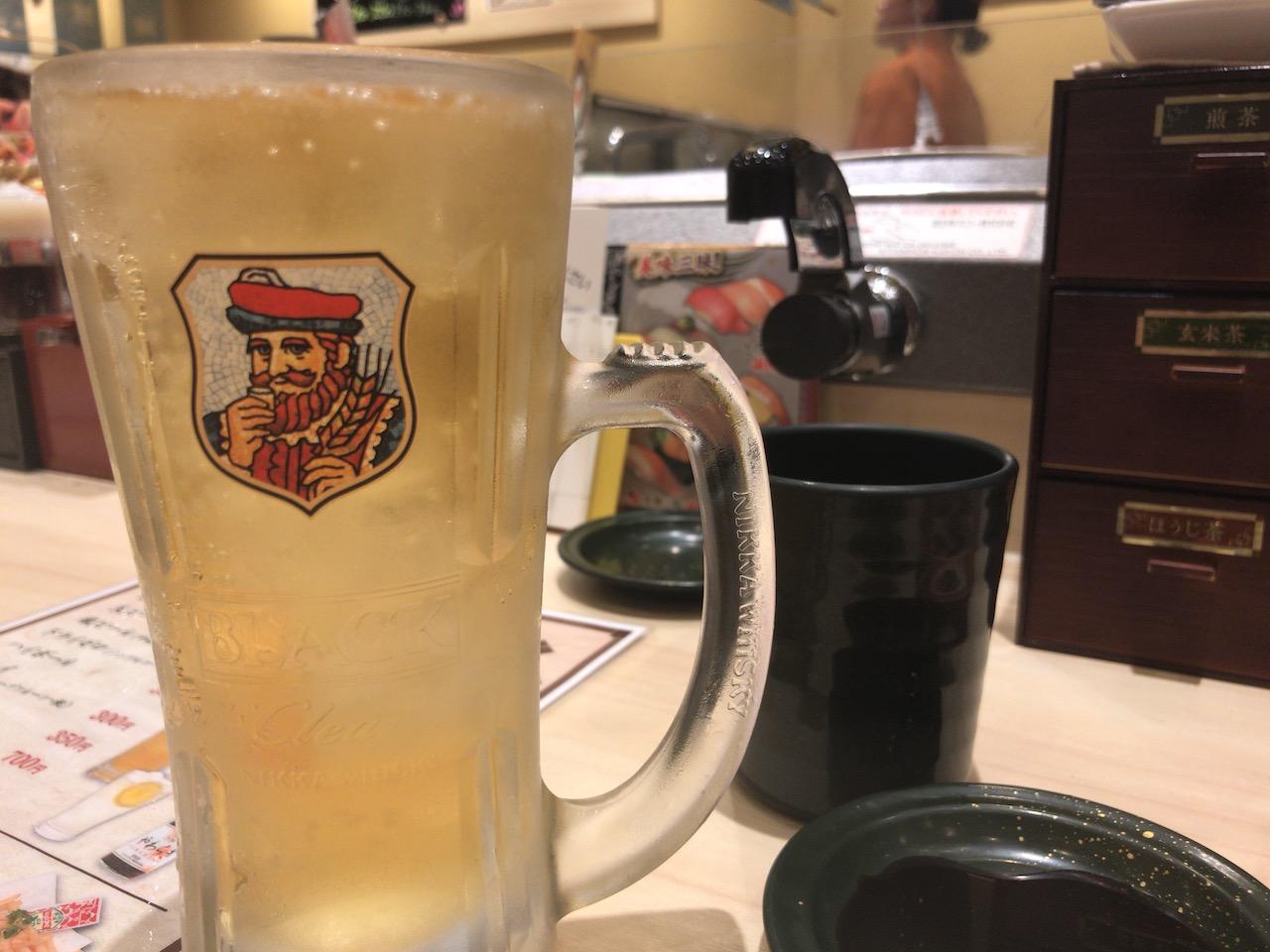 姫路駅前の回転寿司「力丸」はひとり飲みに適しているのか試してきた