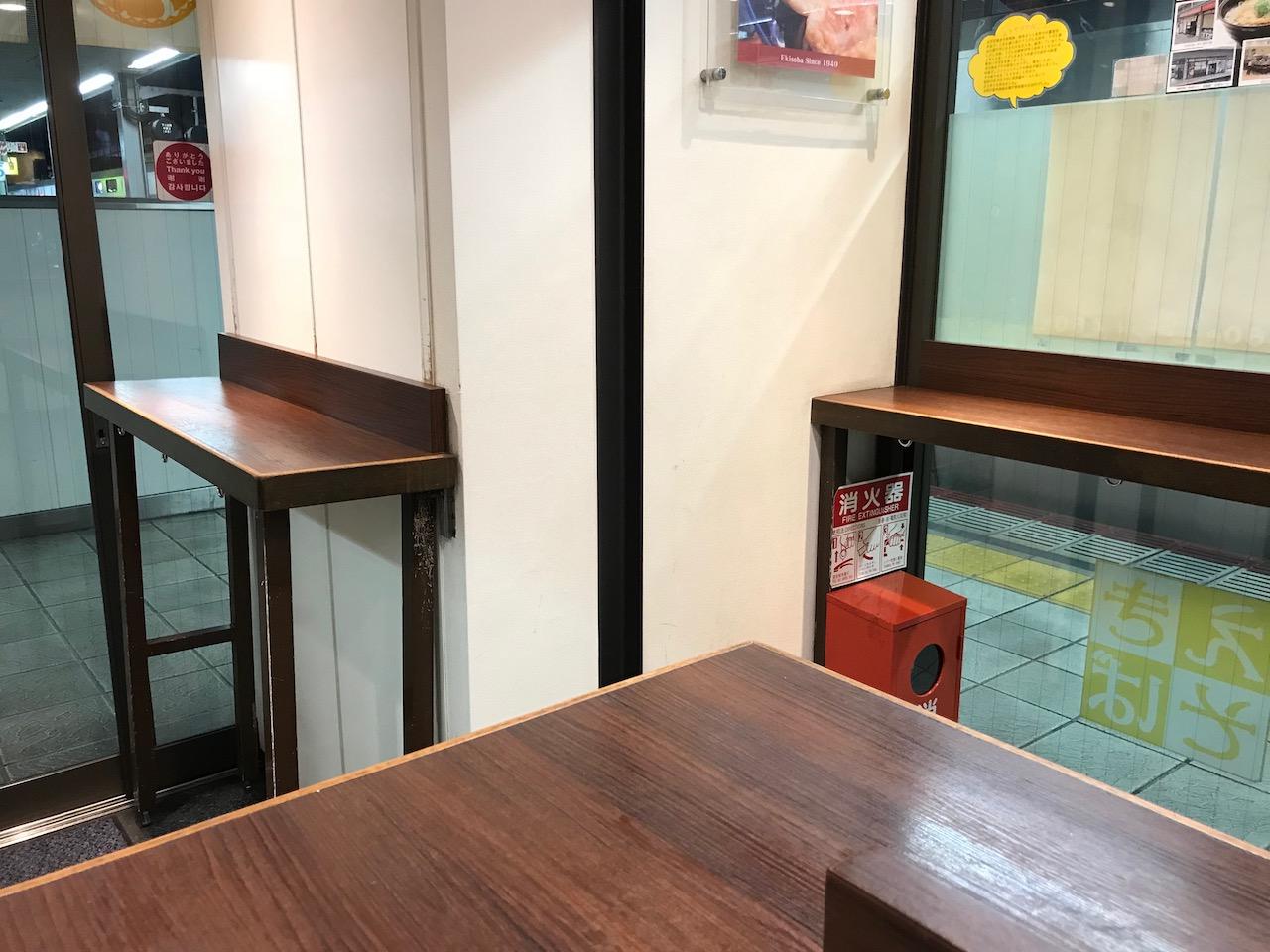 電車の待ち時間は姫路駅名物のえきそばに決定!駅のホームでスピーディーにそばとうどん食べられます