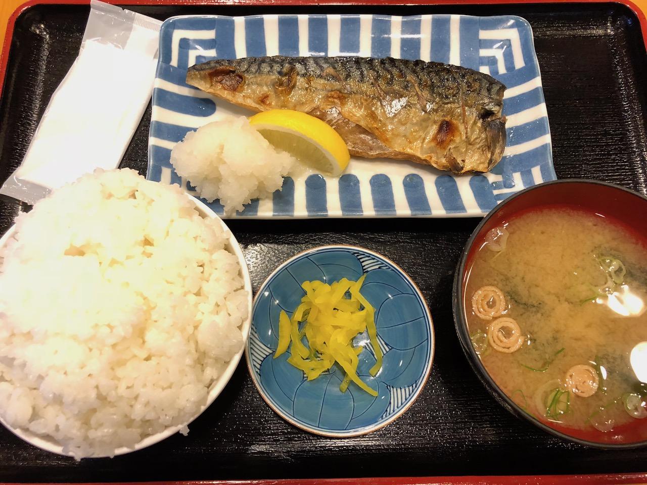 激安!姫路食堂は祝日でもワンコインランチやってるよ!