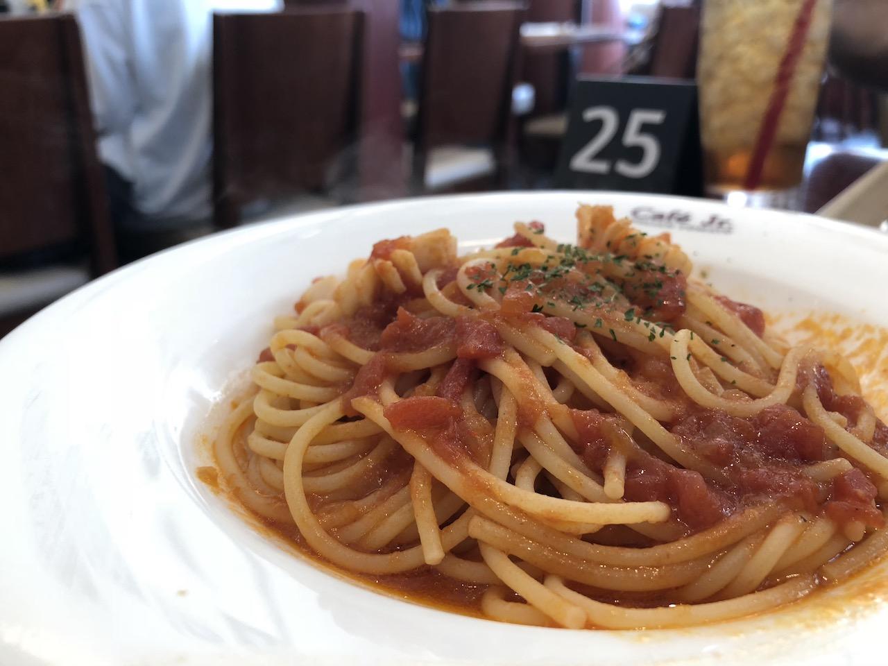 たまにはパスタ!イタリアントマトカフェジュニアでお得なランチセット!