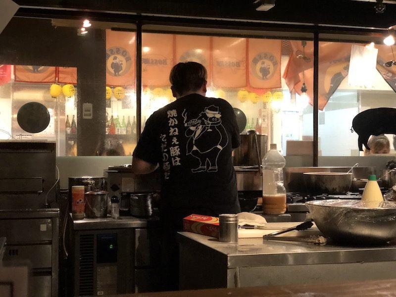 姫路駅前でちょっと飲んで帰ろう。そんなときは駅地下グランフェスタのBOSS豚!